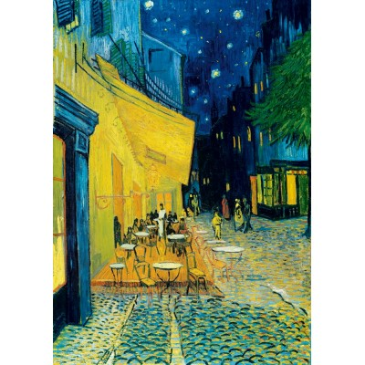 Bluebird-Puzzle - 1000 pieces - Vincent Van Gogh - Café Terrace at Night, 1888