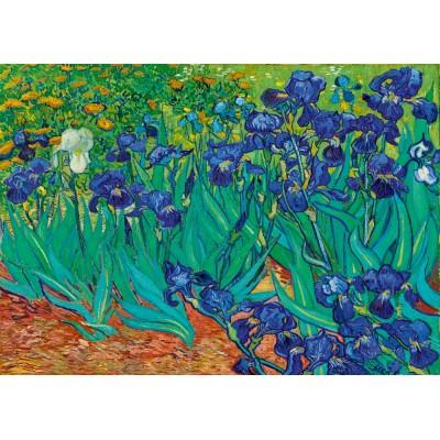 Bluebird-Puzzle - 1000 pieces - Vincent Van Gogh - Irises, 1889
