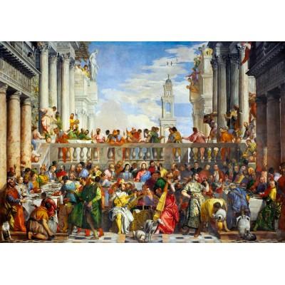 Bluebird-Puzzle - 1000 pièces - Paolo Veronese - The Wedding at Cana, 1563