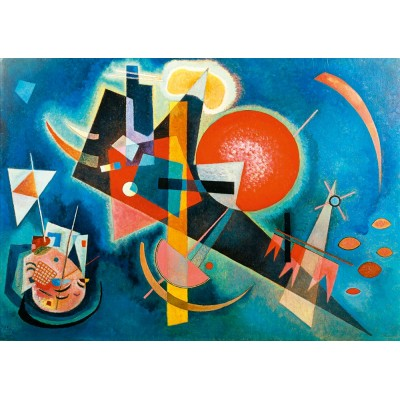 Bluebird-Puzzle - 1000 pieces - Kandinsky - In Blue, 1925