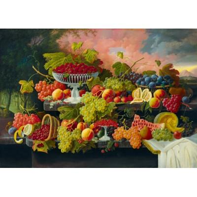 Bluebird-Puzzle - 1000 pieces - Severin Roesen - Still Life, 1867