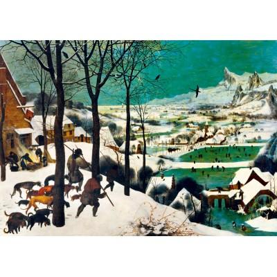 Bluebird-Puzzle - 1000 pieces - Pieter Bruegel the Elder - Hunters in the Snow (Winter), 1565