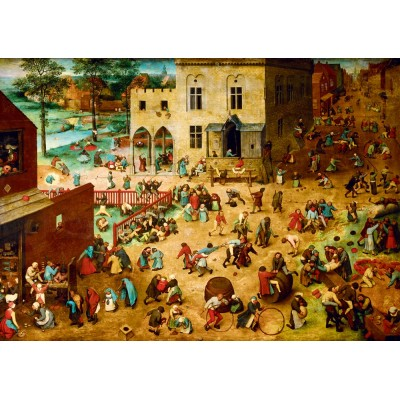 Bluebird-Puzzle - 1000 pieces - Pieter Bruegel the Elder - Children's Games, 1560