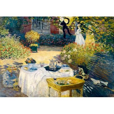 Bluebird-Puzzle - 1000 pieces - Claude Monet - The Lunch, 1873