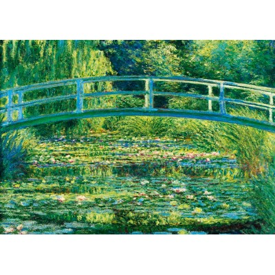 Bluebird-Puzzle - 1000 pieces - Claude Monet - The Water-Lily Pond, 1899