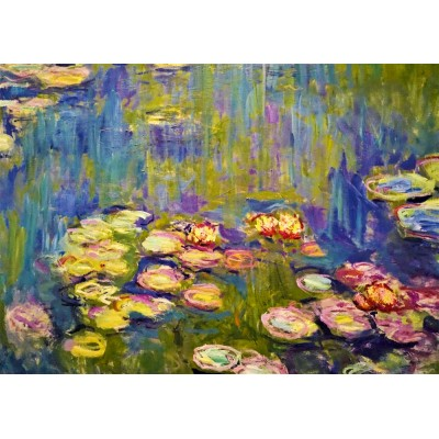 Bluebird-Puzzle - 1000 pieces - Claude Monet - Nymphéas