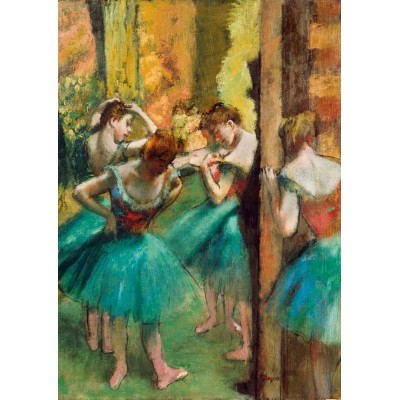 Bluebird-Puzzle - 1000 pieces - Degas - Dancers, Pink and Green, 1890