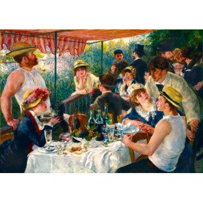 Bluebird-Puzzle - 1000 pieces - Renoir - Luncheon of the Boating Party, 1881