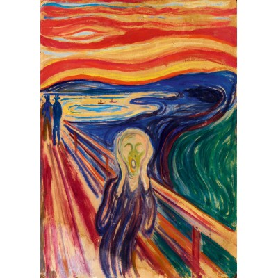 Bluebird-Puzzle - 1000 pieces - Munch - The Scream, 1910