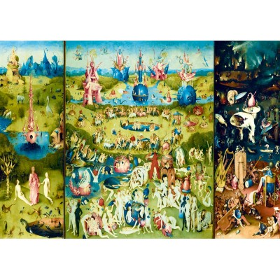 Bluebird-Puzzle - 1000 pieces - Bosch - The Garden of Earthly Delights