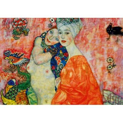 Bluebird-Puzzle - 1000 pieces - Gustave Klimt - The Women Friends, 1917