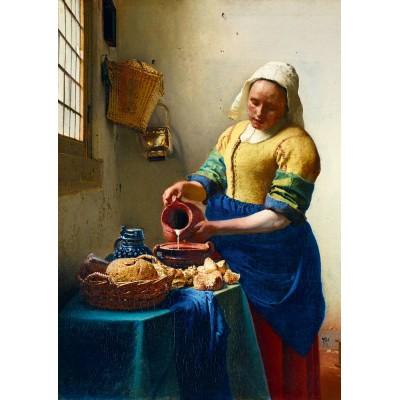 Bluebird-Puzzle - 1000 pieces - Vermeer- The Milkmaid, 1658