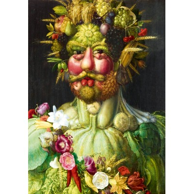 Bluebird-Puzzle - 1000 pieces - Arcimboldo - Rudolf II of Habsburg as Vertumnus, 1590