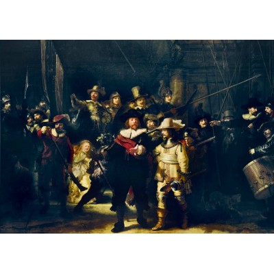 Bluebird-Puzzle - 1000 pièces - Rembrandt - The Night Watch, 1642