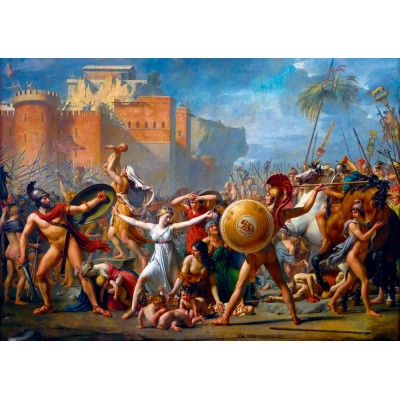 Bluebird-Puzzle - 1000 pieces - Jacques-Louis David - The Intervention of the Sabine Women, 1799
