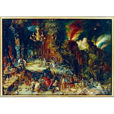 Bluebird-Puzzle - 1000 pieces - Jan Brueghel the Elder - Allegory of Fire, 1608