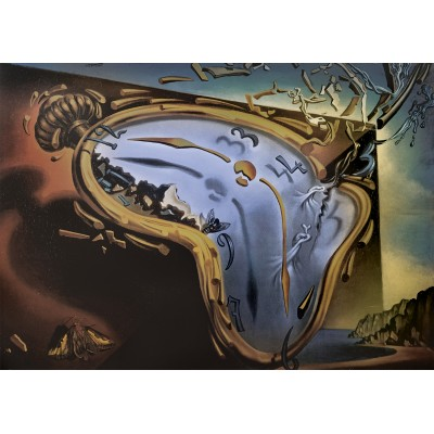 Bluebird-Puzzle - 1000 pieces - Salvador Dalí - Soft Watch Exploding in 888 Particles after Twenty Years of Total Immobility, c. 195