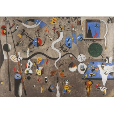 Bluebird-Puzzle - 1000 pieces - Joan Miro  - The Harlequin's Carnival, 1924-1925