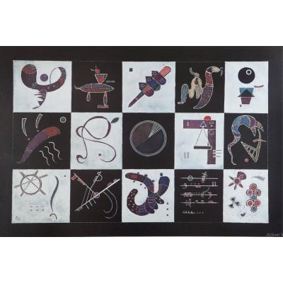 Bluebird-Puzzle - 1000 Teile - Kandinsky - Quinze, 1959