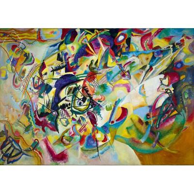 Bluebird-Puzzle - 1000 pieces - Vassily Kandinsky - Kandinsky - Impression VII, 1912