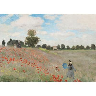 Bluebird-Puzzle - 1000 Teile - Claude Monet - Poppy Field, 1873