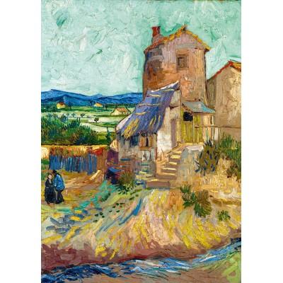 Bluebird-Puzzle - 1000 pièces - Vincent Van Gogh - La Maison de La Crau (The Old Mill), 1888