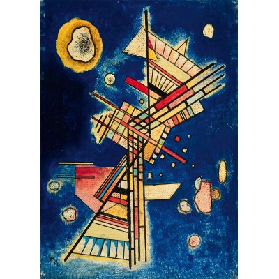 Bluebird-Puzzle - 1000 pièces - Vassily Kandinsky - Dunkle Kühle (Fraîcheur sombre), 1927