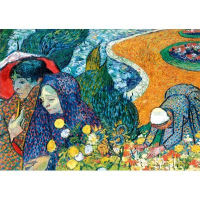 Bluebird-Puzzle - 1000 Teile - Vincent Van Gogh - Memory of the Garden at Etten (Ladies of Arles), 1888