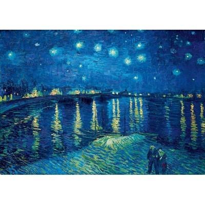 Bluebird-Puzzle - 1000 Teile - Vincent Van Gogh - Starry Night over the Rhône, 1888