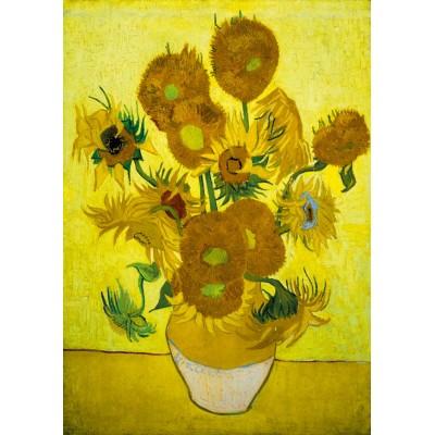 Bluebird-Puzzle - 1000 pieces - Vincent Van Gogh - Sunflowers, 1889