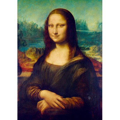 Bluebird-Puzzle - 1000 pieces - Leonardo Da Vinci - Mona Lisa, 1503