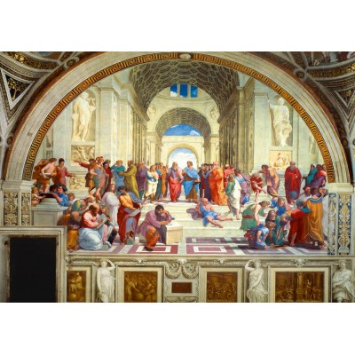 Bluebird-Puzzle - 1000 pieces - Raphael - The School of Athens, 1511
