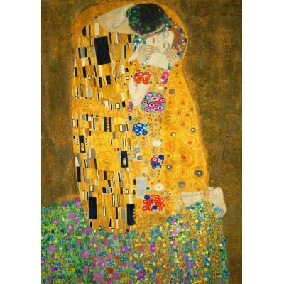 Bluebird-Puzzle - 1000 pieces - Gustave Klimt - The Kiss, 1908