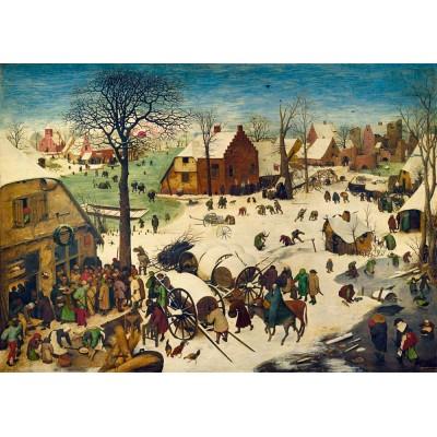 Bluebird-Puzzle - 1000 pieces - Pieter Bruegel the Elder - The Census at Bethlehem, 1566