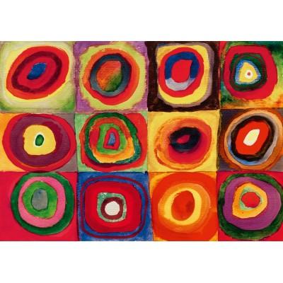 Bluebird-Puzzle - 1000 pieces - Kandinsky - Colour Study, 1913