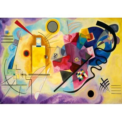 Bluebird-Puzzle - 1000 Teile - Kandinsky - Gelb-Rot-Blau, 1925
