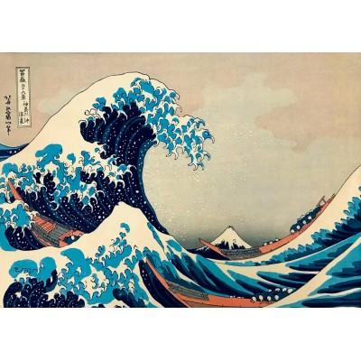 Bluebird-Puzzle - 1000 pieces - Hokusai - The Great Wave off Kanagawa, 1831