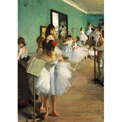 Bluebird-Puzzle - 1000 Teile - Degas - The Dance Class, 1874