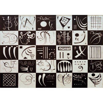 Bluebird-Puzzle - 1000 pieces - Kandinsky - Trente, 1937