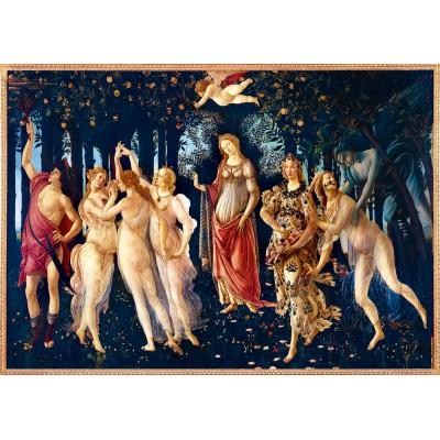 Bluebird-Puzzle - 1000 pièces - Botticelli - La Primavera (Spring), 1482