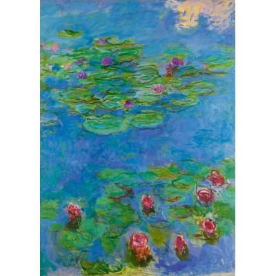 Bluebird-Puzzle - 1000 Teile - Claude Monet - Water Lilies, 1917