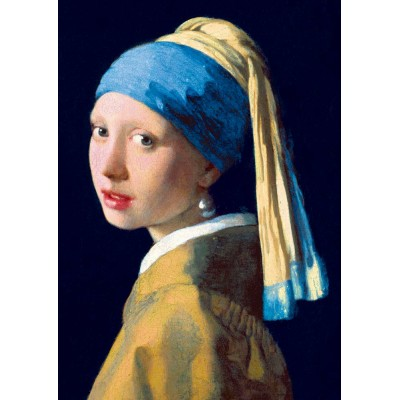 Bluebird-Puzzle - 1000 pieces - Vermeer- Girl with a Pearl Earring, 1665