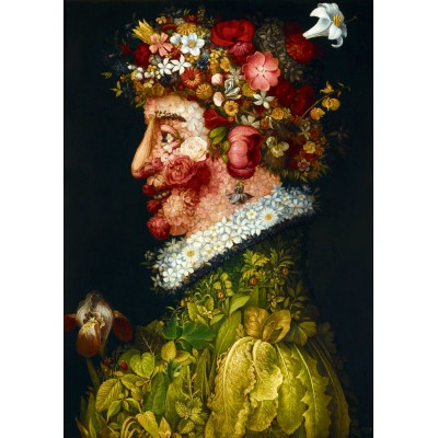 Bluebird-Puzzle - 1000 Teile - Arcimboldo - La Primavera, 1563