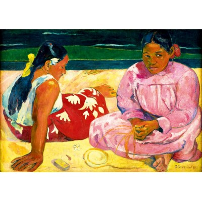 Bluebird-Puzzle - 1000 pieces - Gauguin - Tahitian Women on the Beach, 1891