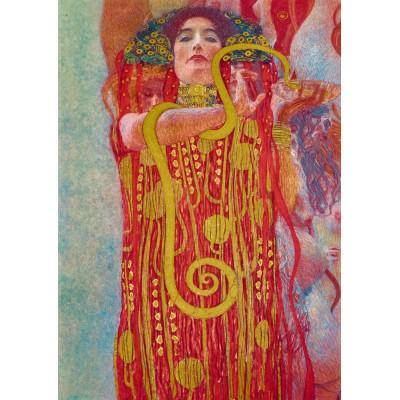 Bluebird-Puzzle - 1000 Teile - Gustave Klimt - Hygieia, 1931