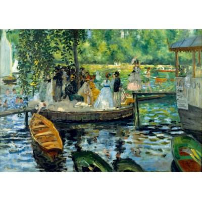Bluebird-Puzzle - 1000 pieces - Renoir - La Grenouillère, 1869