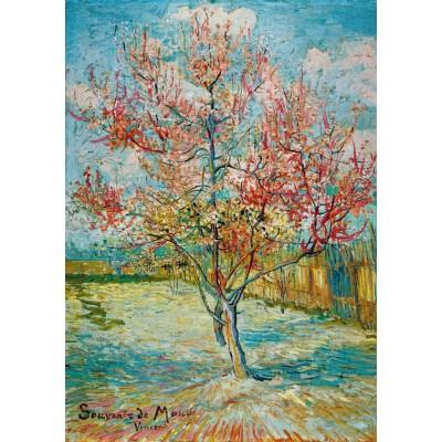 Bluebird-Puzzle - 1000 Teile - Vincent Van Gogh - Pink Peach Trees (Souvenir de Mauve), 1888