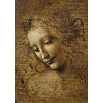Bluebird-Puzzle - 1000 pièces - Leonardo da Vinci - La Scapigliata, 1506-1508