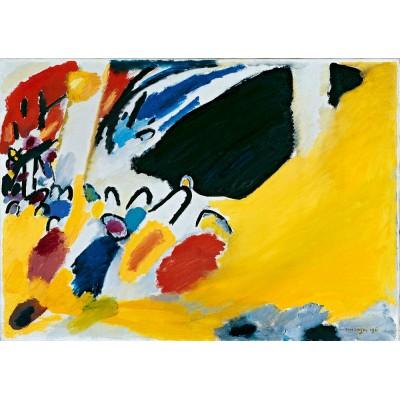 Bluebird-Puzzle - 1000 pièces - Vassily Kandinsky - Impression III (Concert), 1911