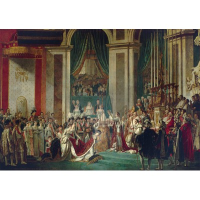 Bluebird-Puzzle - 1000 pièces - Jacques-Louis David - The Coronation of the Emperor and Empress, 1805-1807
